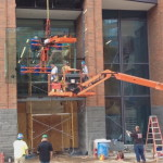 SkyHook WPI Courthouse installation