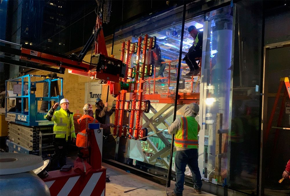 Ergo Robotic Solutions Helps Clients Deal with Challenging Glass Installation